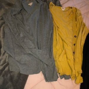 Mossimo Supply Co. Sweaters - Bundle of 3 cardigans